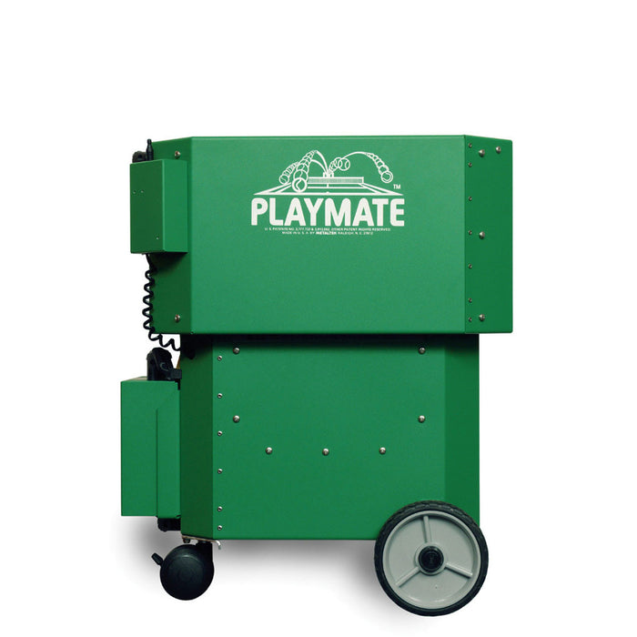 Playmate Volley with Hopper Down for Transport and Storage