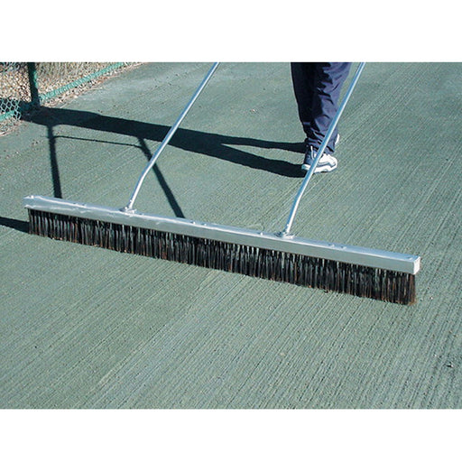Steel Bristle Drag Brush for Clay Tennis Courts