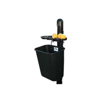 Tidi-Court Valet Post Mounted in Black