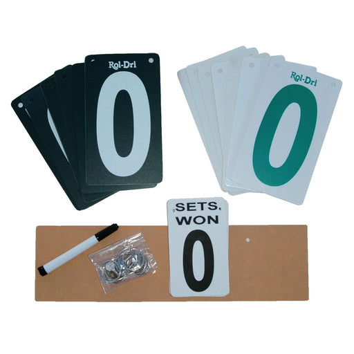 Tidi-Court Scorekeeper Replacement Cards and Parts