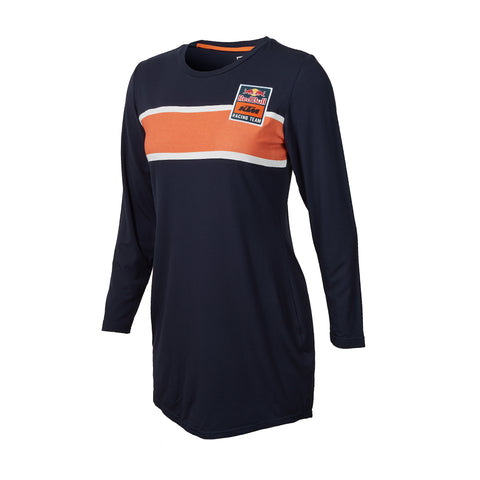Red Bull KTM Racing Team Women's Curved Hem T-Shirt Dress
