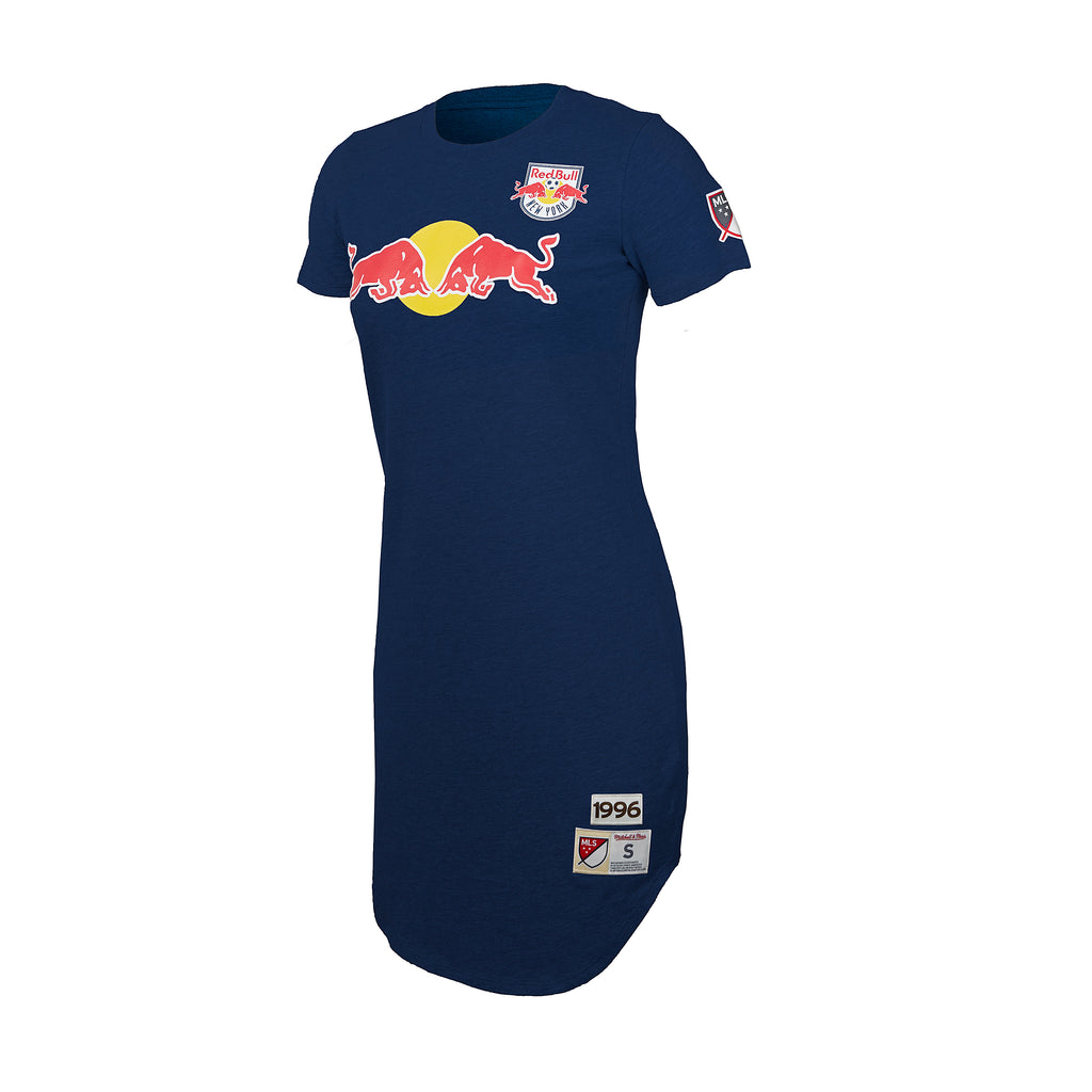 New York Red Bulls Mitchell & Ness Women's Jersey Tee Dress