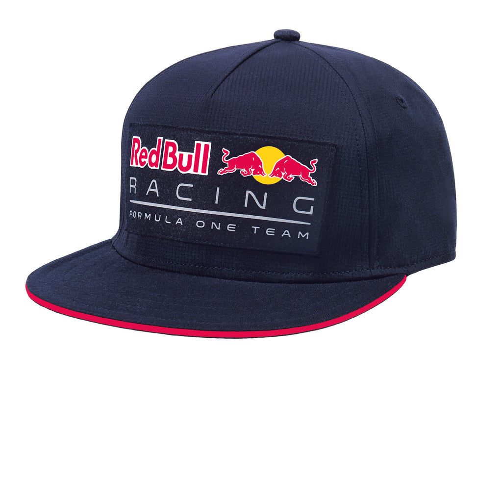 fb02bdcdefe ... Aston Martin Red Bull Racing 2018 Patch Flat Hat ...