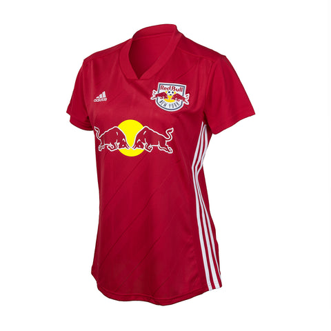 New York Red Bulls adidas Women's Replica Secondary Short Sleeve Jersey