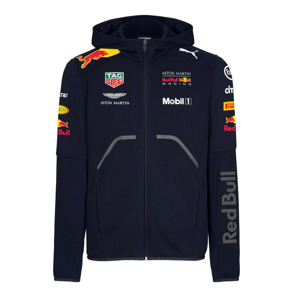 1d089233c82 ... Aston Martin Red Bull Racing 2018 Official Teamline Zip Hoodie ...