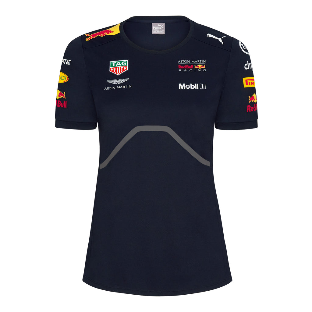 9d19f474c9d ... Aston Martin Red Bull Racing 2018 Women s Official Teamline T-Shirt ...