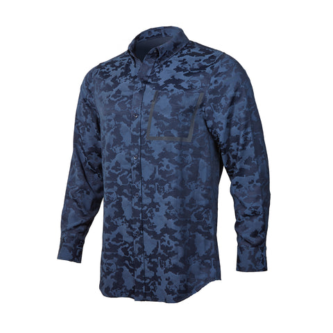 Red Bull Signature Series Camo Button Down Shirt