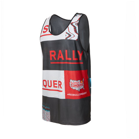 Red Bull Conquest Reversible Basketball Mesh Jersey Tank