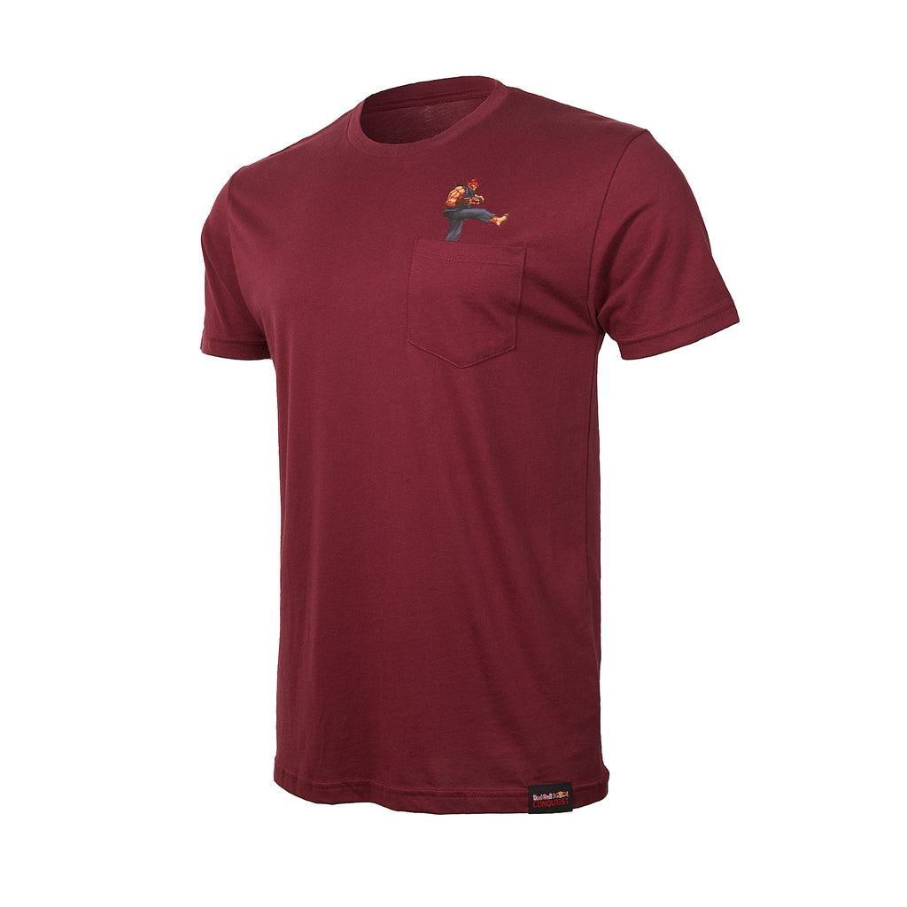 Red Bull Conquest Akuma Pocket T-Shirt