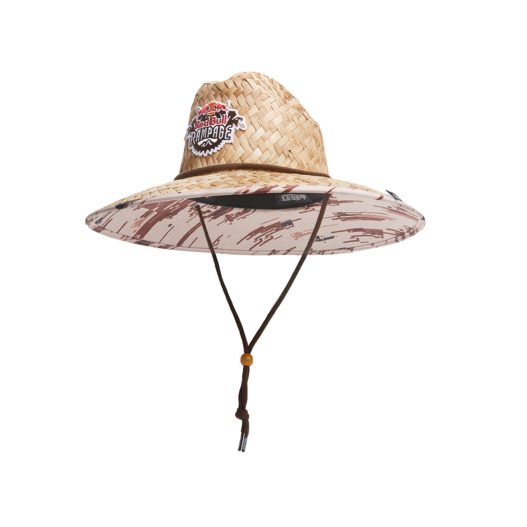 official photos 71c5c 62439 ... Red Bull Rampage Camo Hemlock Straw Hat ...