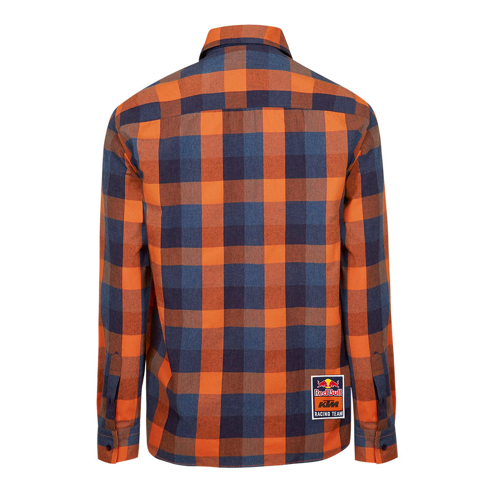 Red Bull KTM Racing Team Checked Flannel Shirt