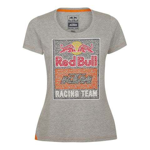 Red Bull KTM Racing Team Women's Mosaic Graphic T-Shirt