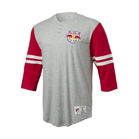 New York Red Bulls Mitchell & Ness Henley