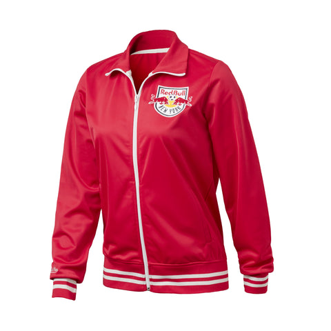New York Red Bulls Mitchell & Ness Women's Track Jacket