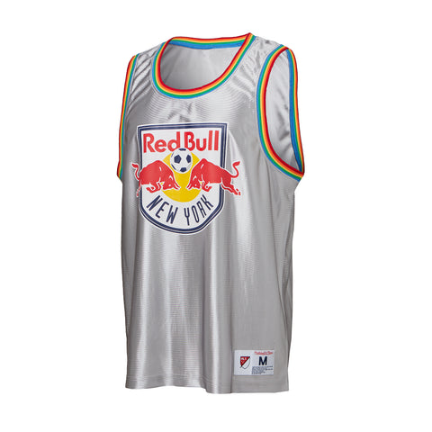 New York Red Bulls Mitchell & Ness Dazzle Tank