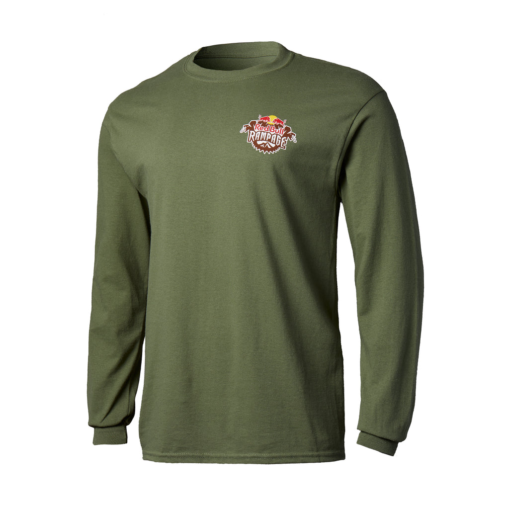 Red Bull Rampage Snake Run Long Sleeve T-Shirt