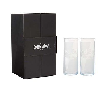 Red Bull Glass Set