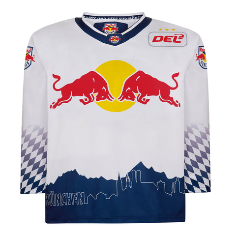 ECH Red Bull Munich Away Jersey