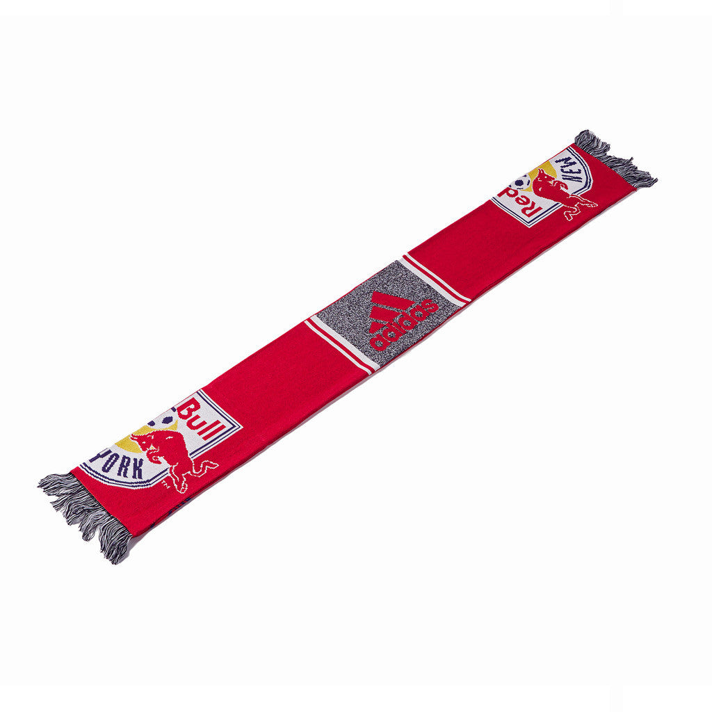 New York Red Bulls adidas Authentic Draft Scarf
