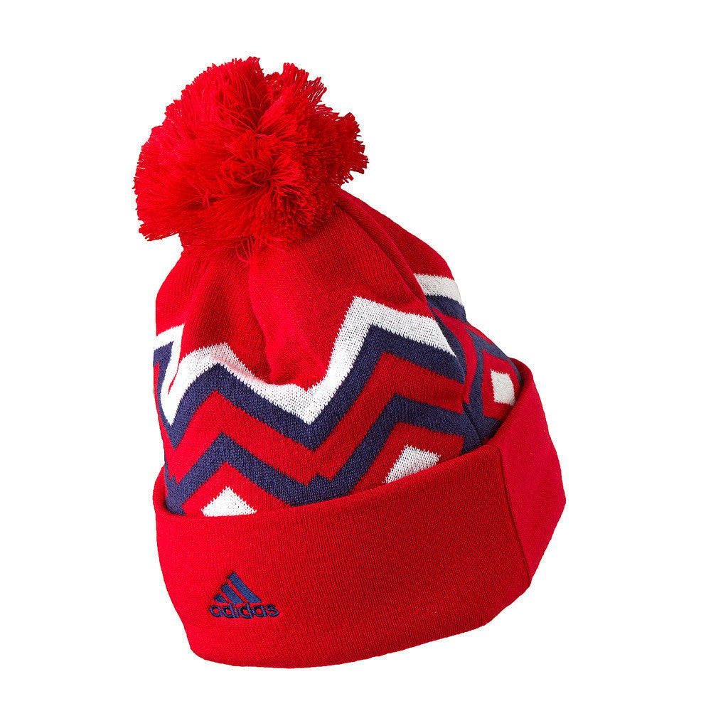 New York Red Bulls adidas Cuffed Beanie