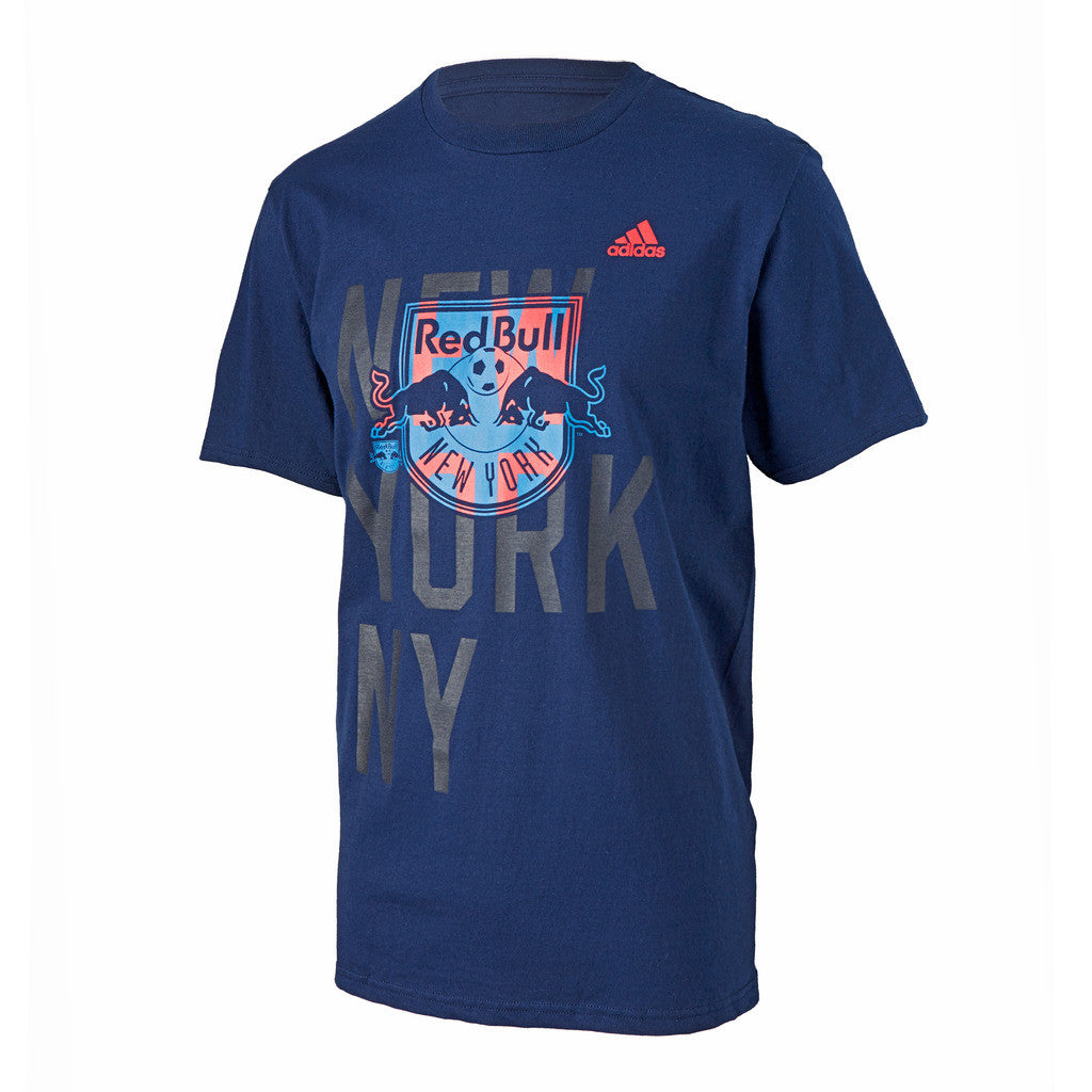 New York Red Bulls adidas Bleed Through Logo T-Shirt