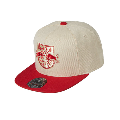 New York Red Bulls Cream Oxford Fitted Cap