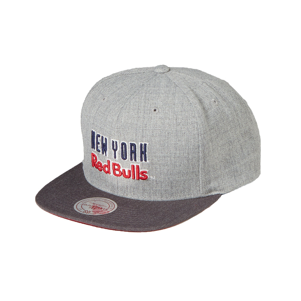 New York Red Bulls Tri Pop Special Script Snapback