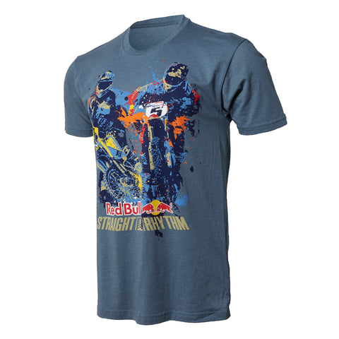 Red Bull Straight Rhythm Poster Tee