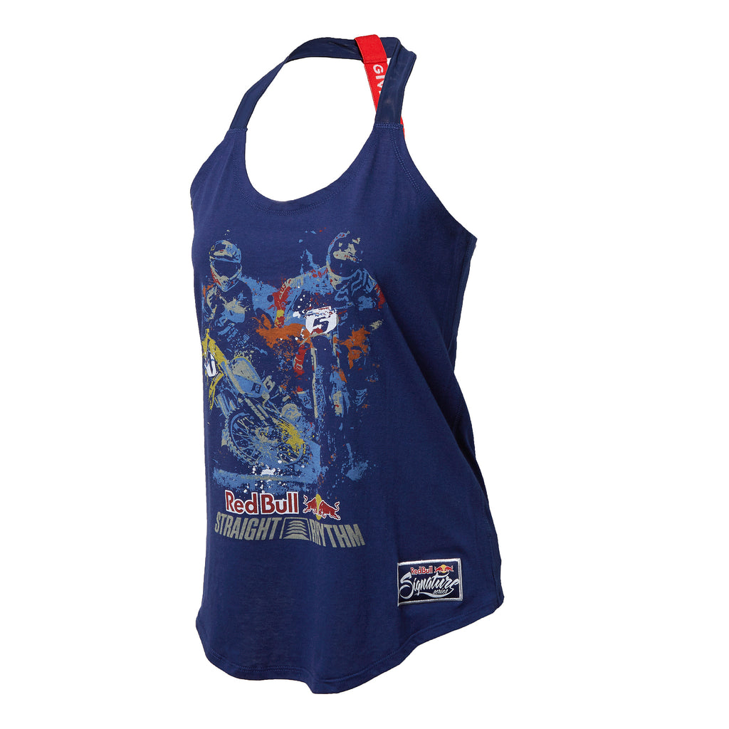 Red Bull Straight Rhythm Women's Poster Tank