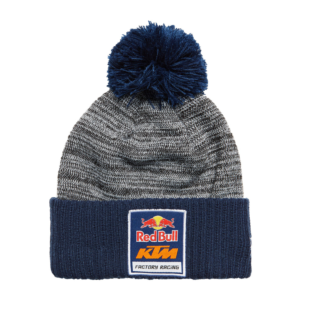 4461f0f3711 Red Bull KTM Factory Racing 2 Tone Pom Beanie