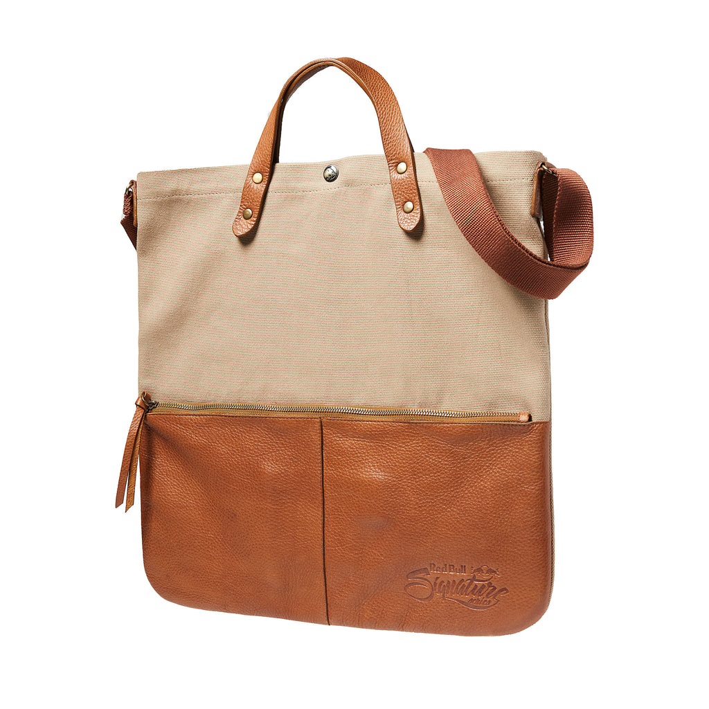 Red Bull Signature Series Leather Tote