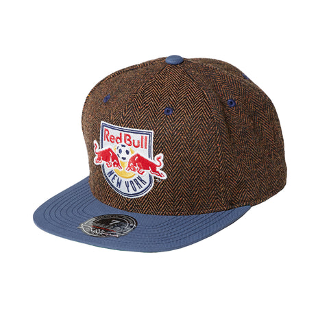 New York Red Bulls Donegal Tweed Fitted Cap 1b2649539fd