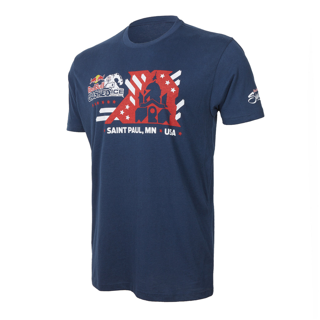 Red Bull Crashed Ice 2017 Men's Tee
