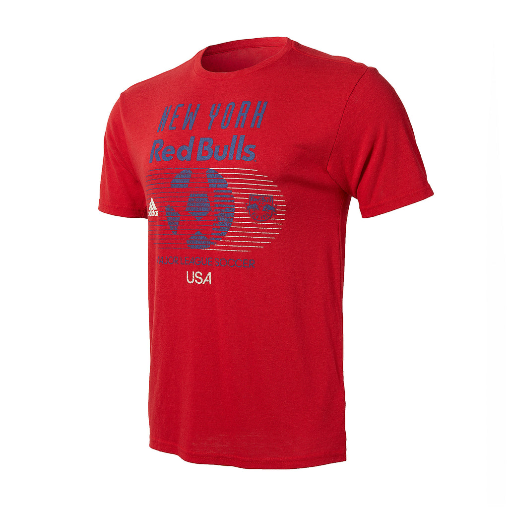 New York Red Bulls Soccer World Tee
