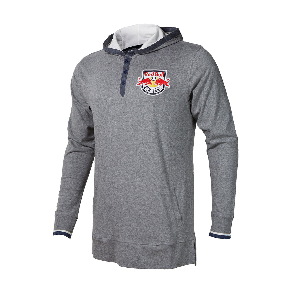 New York Red Bulls Mitchell & Ness Seal the Win Hooded Longsleeve