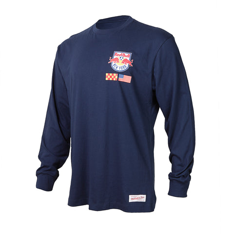 New York Red Bulls Mitchell & Ness Longsleeve Tee