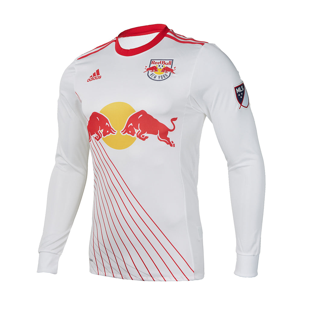 New York Red Bulls 2017 Authentic Longsleeve Primary Jersey