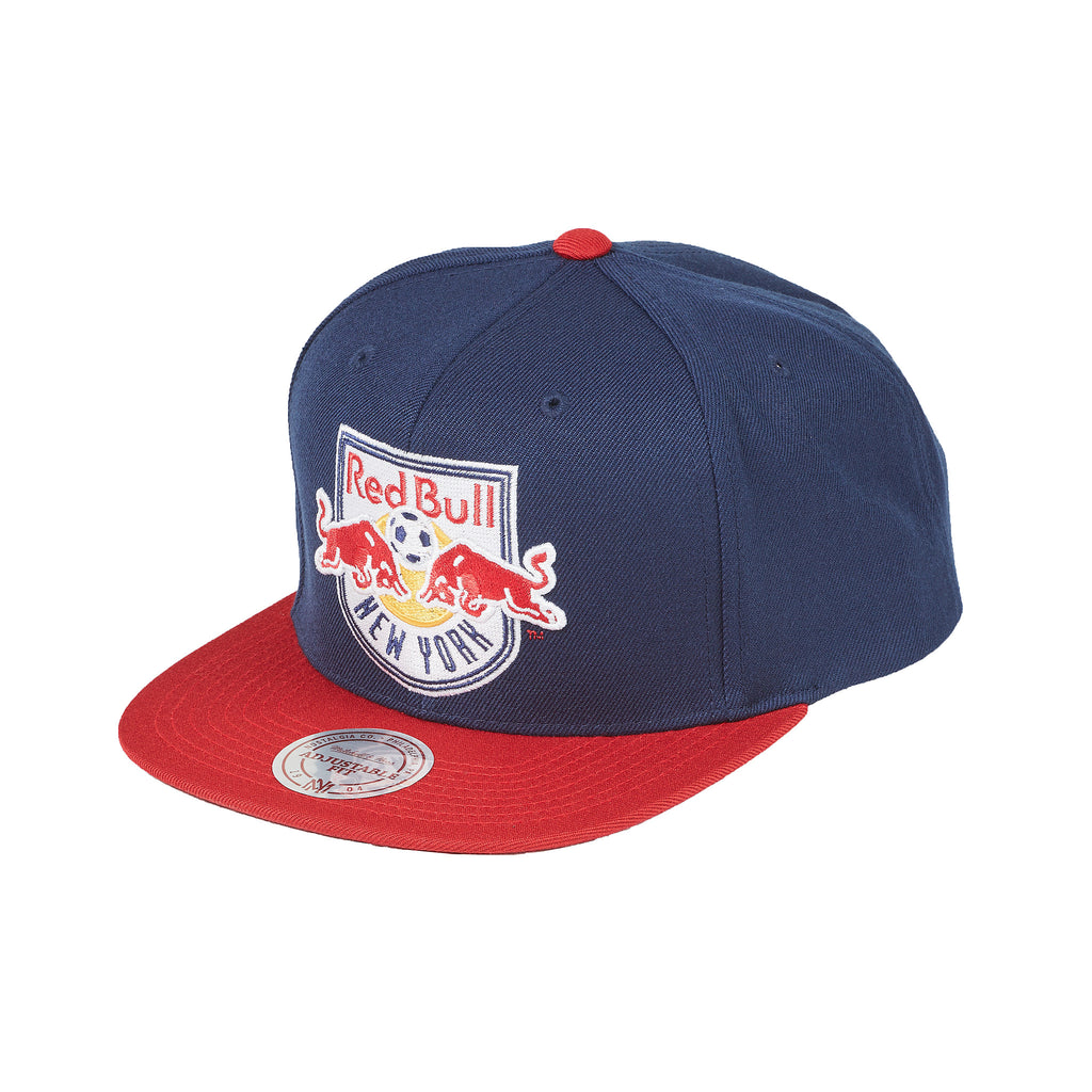 56f3c7c9dc0 New York Red Bulls Mitchell   Ness XL Logo 2 Tone Snapback
