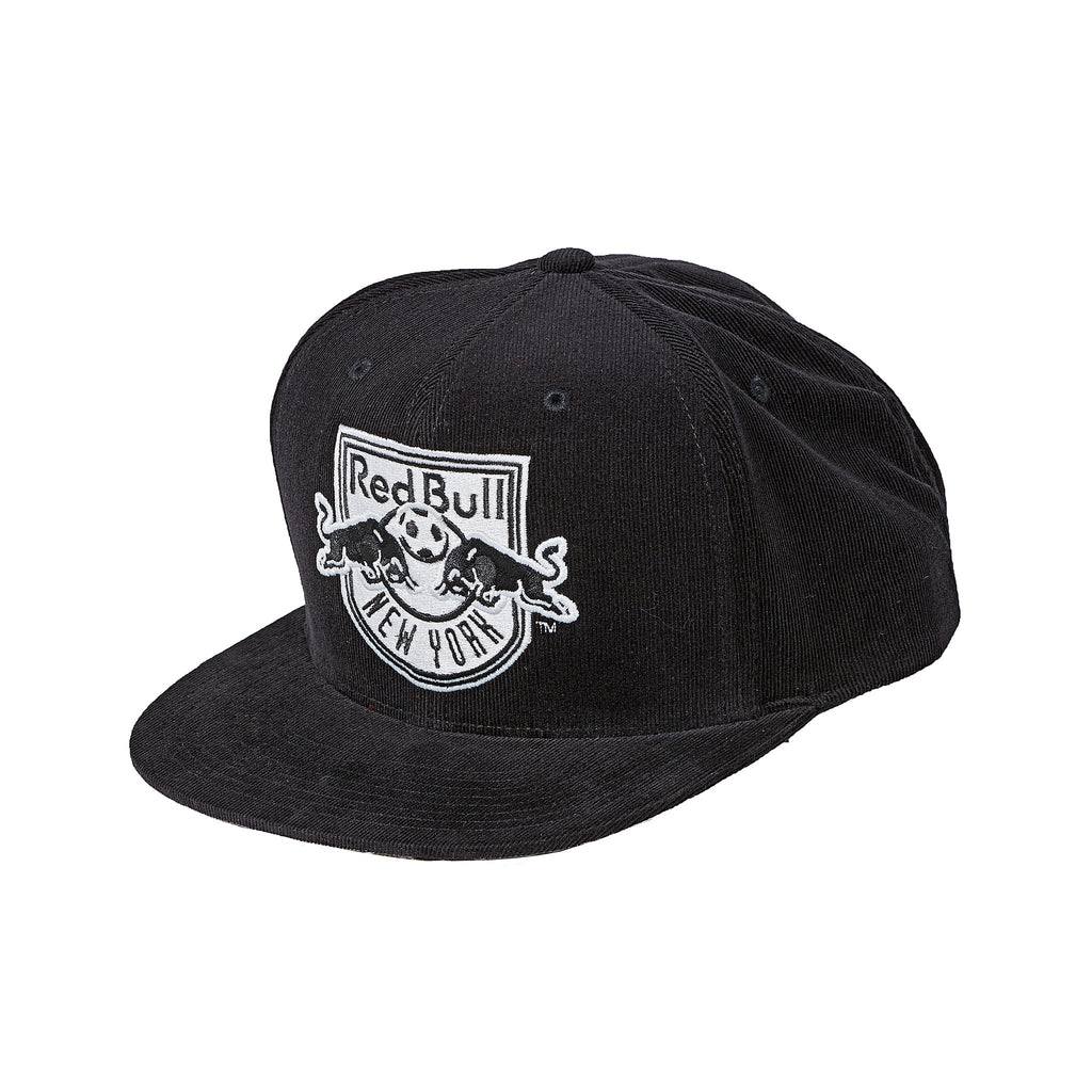 New York Red Bulls Mitchell & Ness Bottom Line Logo Snapback