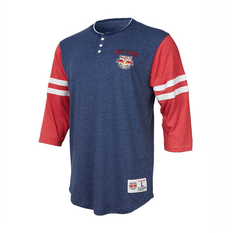 New York Red Bulls Mitchell & Ness Home Stretch Henley