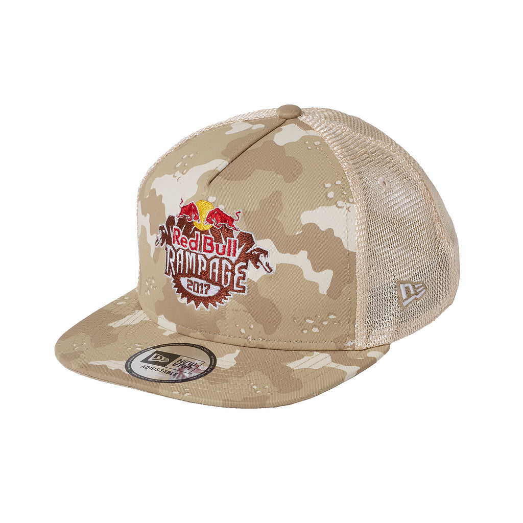 Red Bull Rampage 2017 Camo Trucker Hat