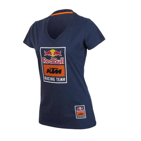 Red Bull KTM Racing Team Women's Logo V-Neck Tee