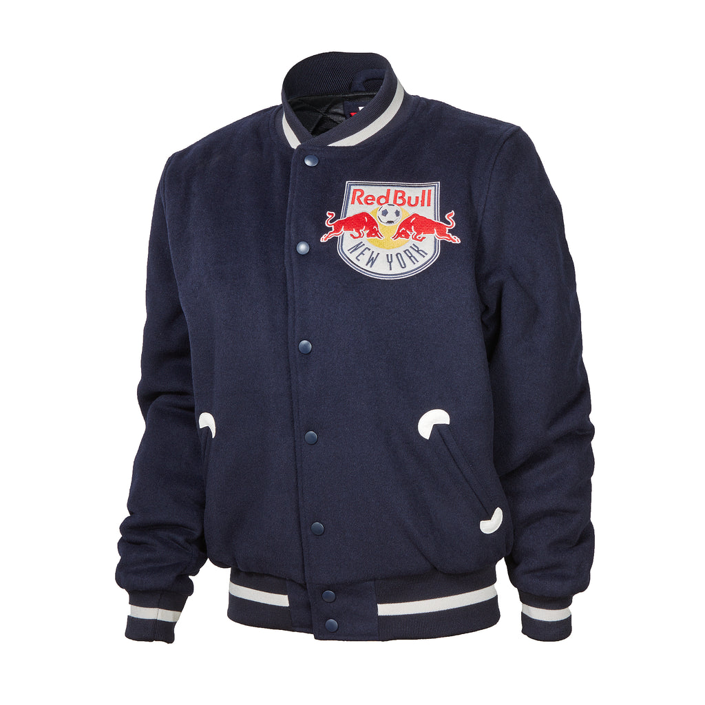 New York Red Bulls Mitchell & Ness In the Stands Varsity Jacket