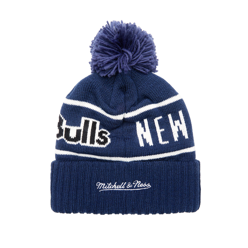 New York Red Bulls Mitchell & Ness Glow In the Dark Pom Beanie