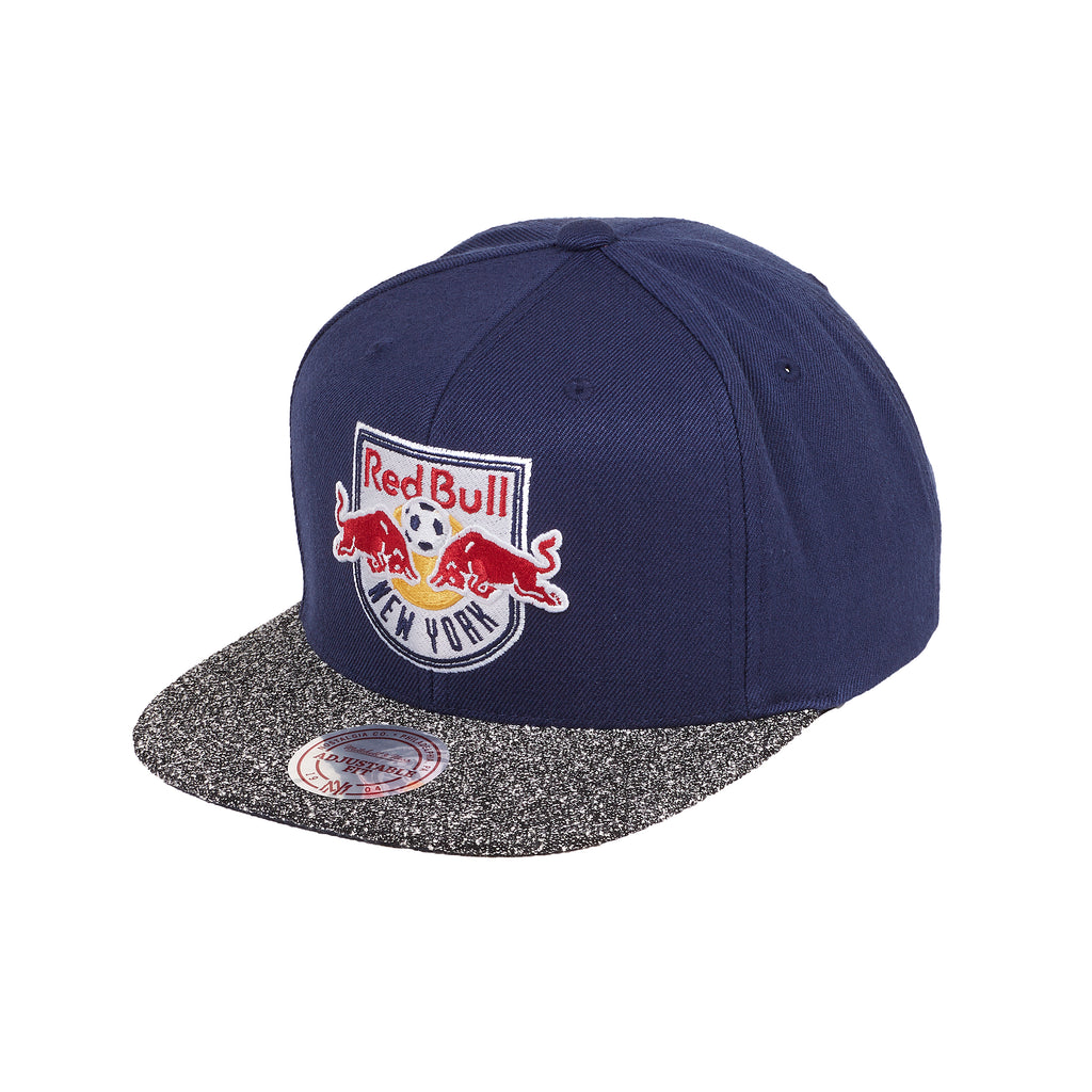 New York Red Bulls Mitchell & Ness Static Cut & Sew Snapback