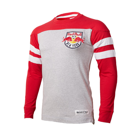 New York Red Bulls Mitchell & Ness Swing Pass Longsleeve