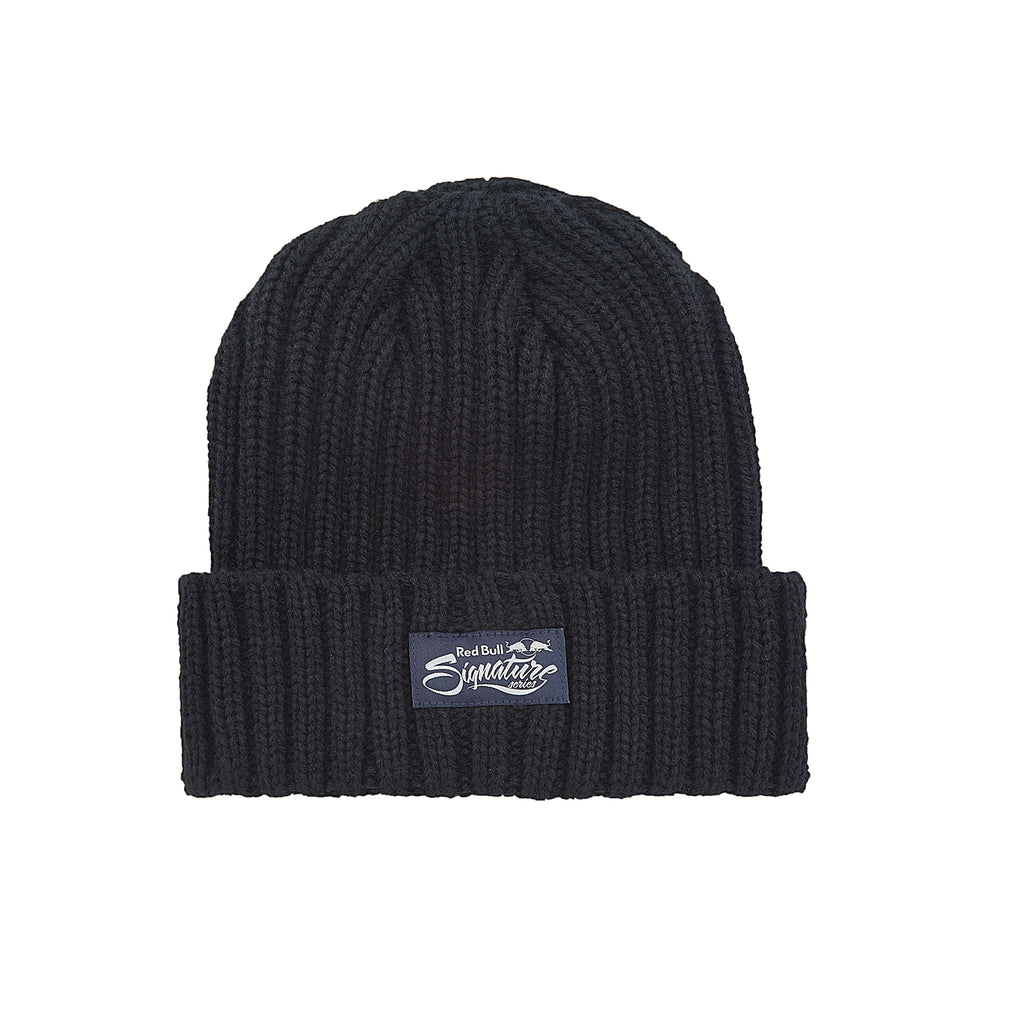 Red Bull Signature Series Cable Knit Cuff Beanie