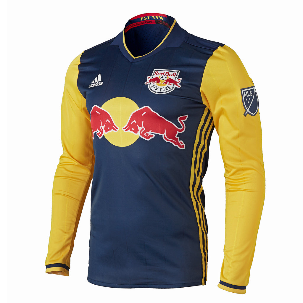 the best attitude d66c9 c73e0 New York Red Bulls adidas 2016 Authentic Secondary Long ...