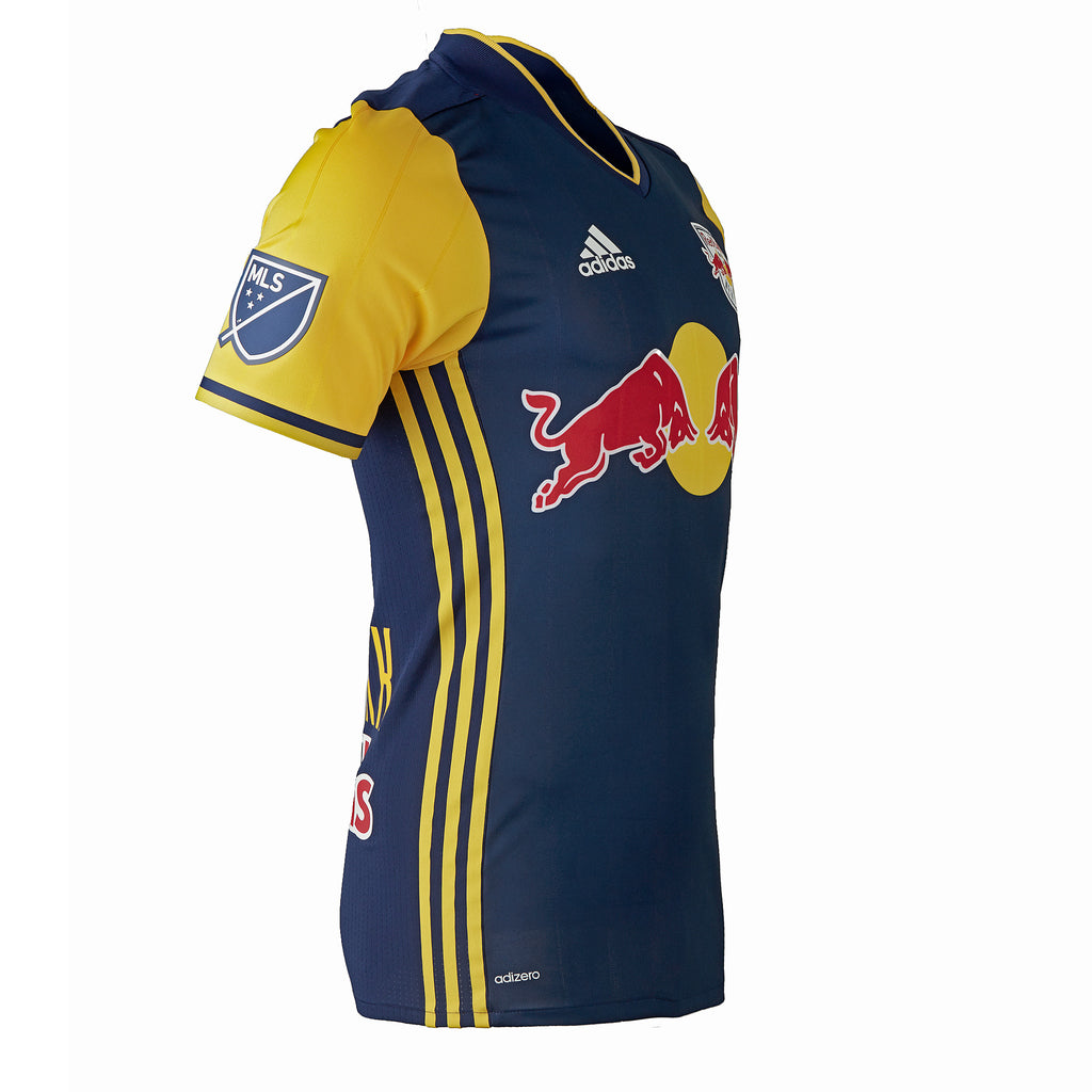 New York Red Bulls adidas 2016 Authentic Secondary Jersey