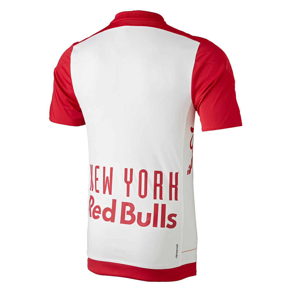New York Red Bulls adidas 2016 Authentic Primary Jersey